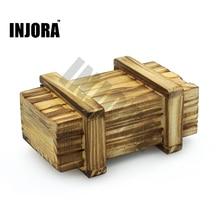 RC Rock Crawler 1:10 Decor Accessories Wooden Box for Axial SCX10 D90 D110 Tamiya CC01 Traxxas TRX-4 RC Car Truck
