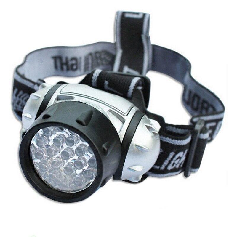 Litake 19 LED de alta intensidad, lámpara de cabeza verde, hidroponia, horticultura, lámpara de cabeza para habitación de cultivo, Flash de noche