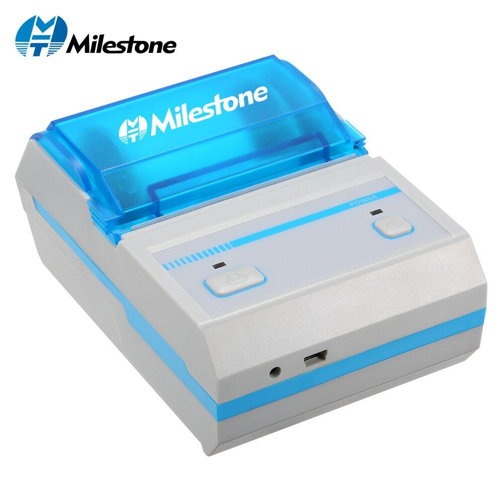 Milestone Label Drucker Thermische Barcode Drucker MHT-L5801 Mit App Android IOS Mini Drahtlose Bluetooth Bar Code Label Maker