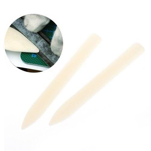 Imitation du dossier en os   Outil de rainurage, outil de marquage, carte de reliure artisanale, fournitures pour lartisanat du cuir, outils de menuiserie 1 pièce