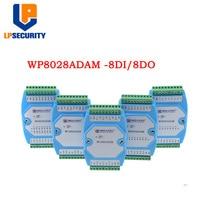 WP8028ADAM 8DI/8DO MODBUS RTU modul/Optokoppler isoliert/RS485