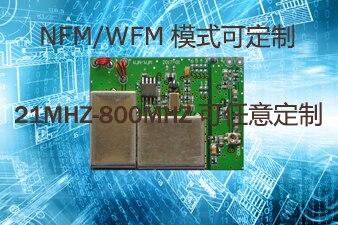 Banda UHF, transmisión de banda ancha estrecha, módulo de comunicación multicanal de voz y audio inalámbrico UV, módulo de emisión NFM/WFM
