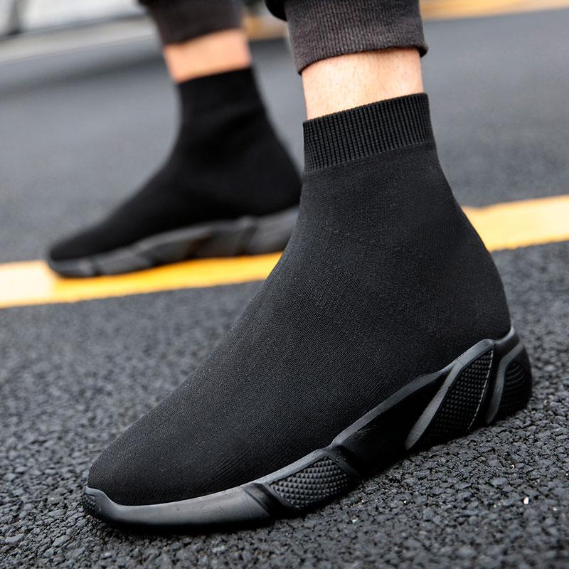 MWY-أحذية رجالية غير رسمية قابلة للانزلاق ، أحذية رياضية دافئة ، أحذية رياضية للمشي في الهواء الطلق ، مقاس كبير