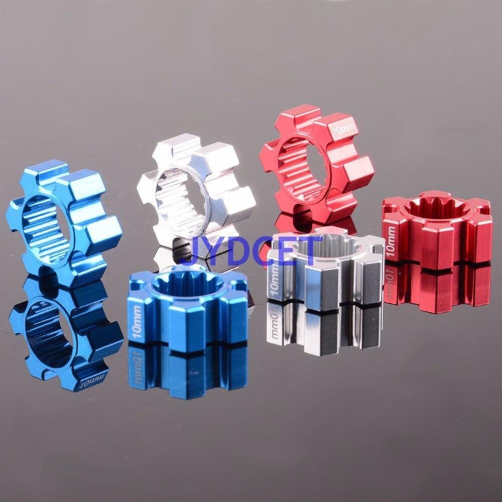 Rueda hexagonal de aluminio x-maxx RC modelo Cars # TXM010/10mm de espesor 2 uds 10MM