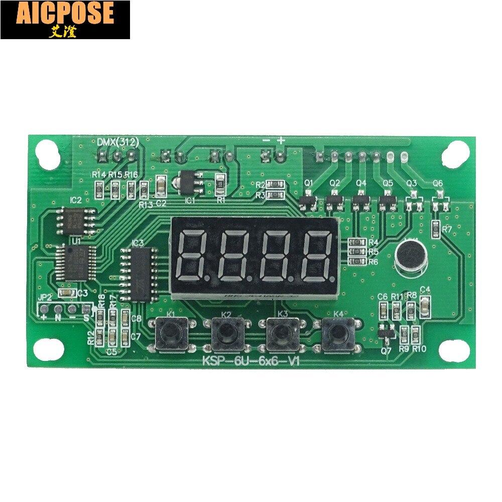 Envío Gratis 7x12W 6x12w 5x12w 12x12w LED placa base par tensión de 12-36V par led RGBW 4in1 7*12w placa base 4/8 canal