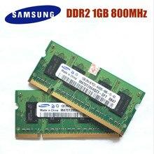 SAMSUNG 1GB DDR2-800Mhz PC2-6400S  DDR2 1gb Laptop Memory 1G pc2 6400 800 MHZ Notebook Module SODIMM RAM