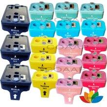18 Cartouches Dencre compatibles pour hp 363 PhotoSmart C5180 C6180 C7280 3110 3207 3210 3213 3310 3313 7180 8230 8250 Imprimante