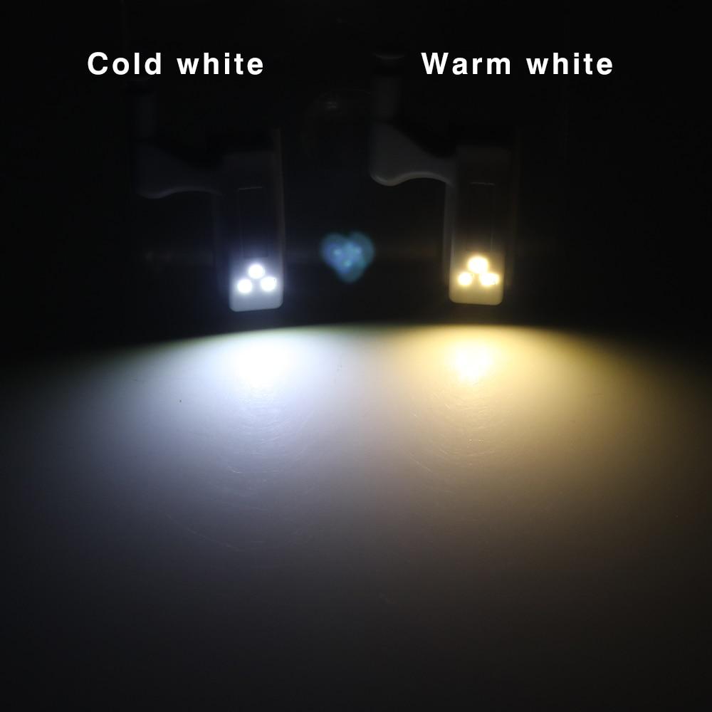 10PCS LED Smart Touch Induktion Schrank Licht Schrank Inneren Scharnier Lampe Sensor Licht Nacht Licht für Schrank Schrank