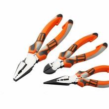6/8 Inch Professionele Tools Multifunctionele Draad Tangen Set Stripper Crimper Cutter naald neus Nipper Elektrisch Gereedschap