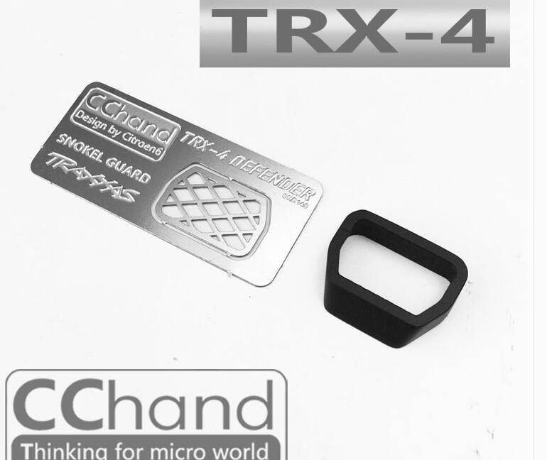 Rejilla de entrada de vadeado CChand TRX4 + anillo de presión