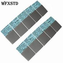 Tampon thermique en silicone 10 * flex720 0.5mm pour mémoire graphique pour ordinateur portable USA LAIRD coussin thermique en silice thermique Beiqiao