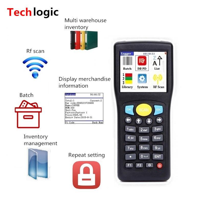 Сканер штрих-кода Techlogic E0589, портативный, беспроводной