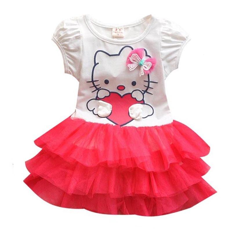 Vestido de verano para niñas, Vestidos de princesa para bebés, Vestidos de fiesta para niños, ropa de bebé para niñas, prendas de vestir con mangas