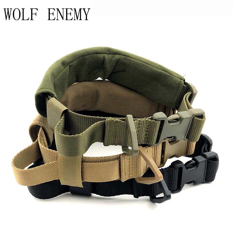 Militar tático pet cachorro colarinho camuflagem caça airsoft paintball engrenagem de treinamento ajustável coleira cão acessórios caça