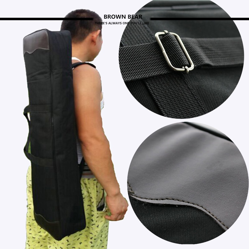 Hunting Archery Recurve Bow Case Black Shoulder Handle Advanced Portable Compound Bow Bags Archery Accessories