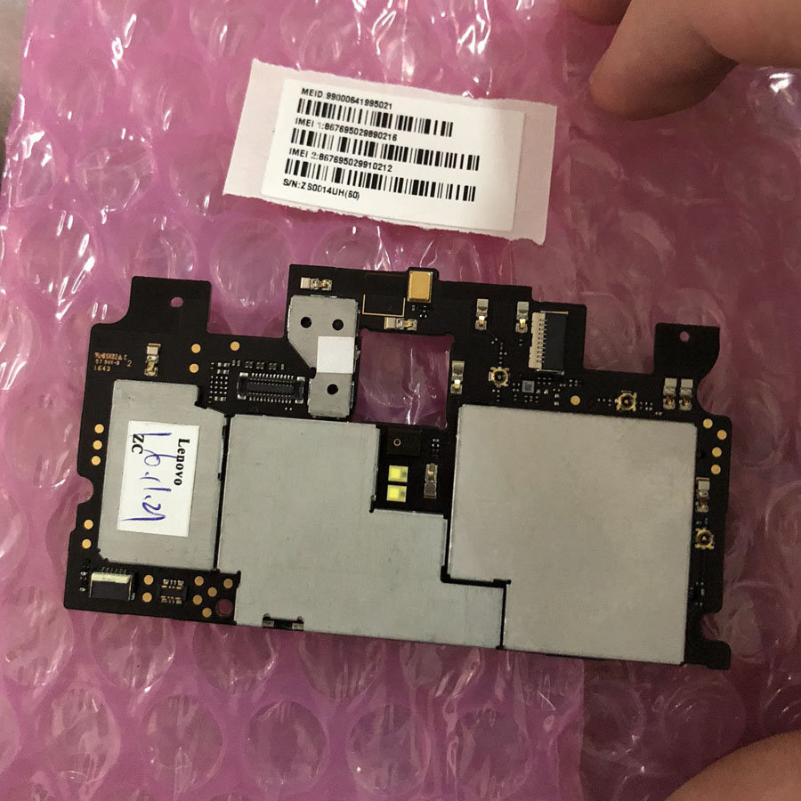In Stock 100% Tested Working 3GB 64GB board For Lenovo ZUK Z1 Motherboard board Smartphone Repair Replacement