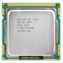 Intel core 2 i7-870 intel i7 870 i7 processeur Quad Core 2.93GHz 95W LGA 1156 8M Cache ordinateur de bureau garantie 1 an