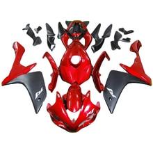 Rode matte black kuip kit voor YAMAHA YZF R1 fairings 2007 2008 YZF R1 07 08 stroomlijnkappen spuitgieten rompen kit TP06