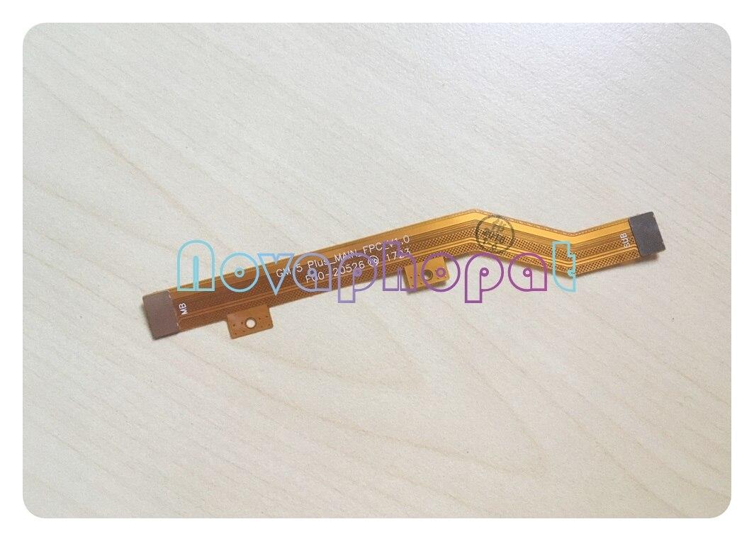 Novaphopat para móvil General GM5 Plus pantalla LCD conectar placa base PCB LCD conector reemplazo de cable flexible