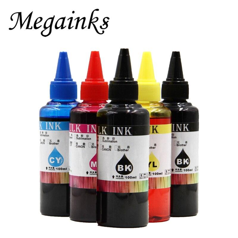 100ML cada uno para canon 470 471 PGI470 CLI471 cartucho de tinta ciss para CANON PIXMA MG6840 MG5740 TS5040 TS6040 tinta de recarga para impresora
