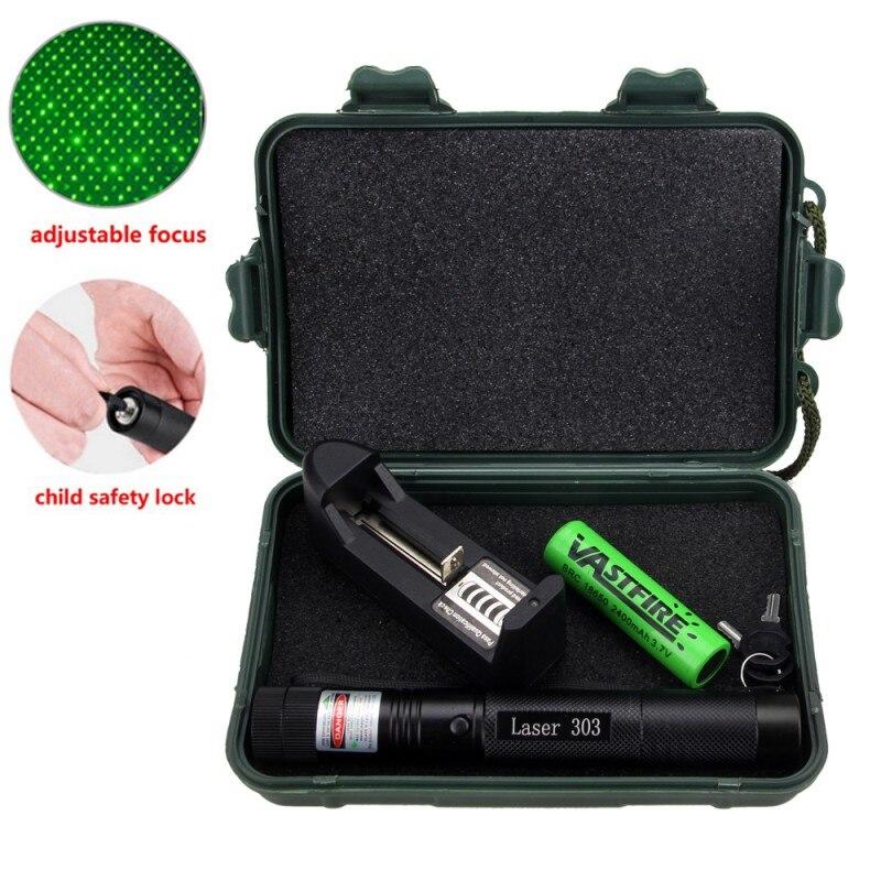 1Pcs 1mW 532nm Grün Laser Stift Leistungsstarke Laser Pointer Presenter Remote Lazer Jagd Laser Licht Sichtbar Strahl