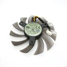Original pour HD6850 HD6870 HD6790 ventilateur de carte graphique vidéo T128010SM 12 V 0.20A
