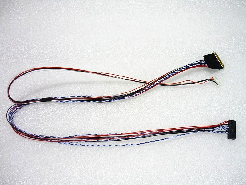 """I-PEX 40 20453-20455 pin 1 ch 6 Un LVDS cable For7/8/10,1/8/10,1/ la longitud de la pantalla LCD/LED de 13,3/14/15,6 """"es de 500mm"""