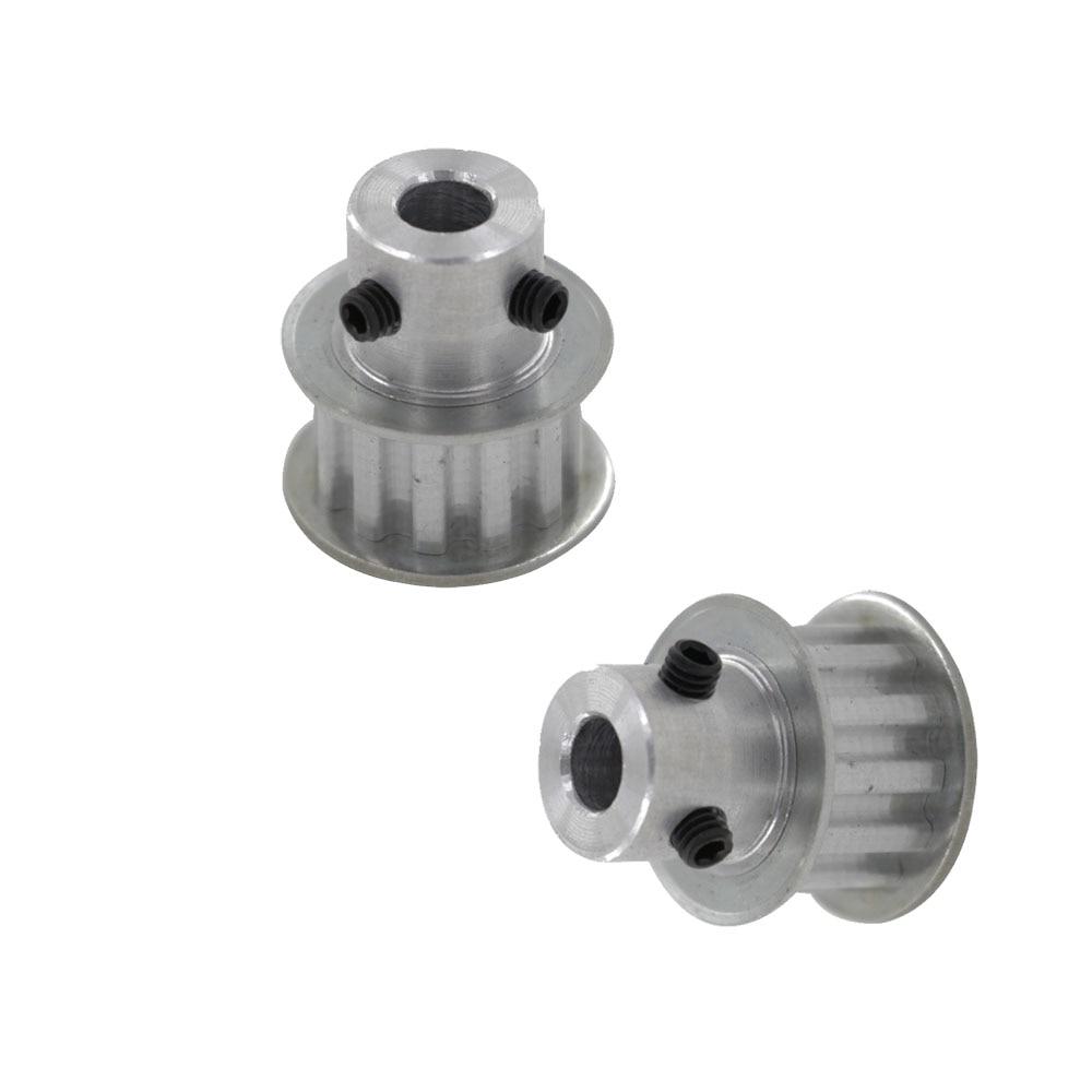 Polea de correa de distribución tipo envío gratis XL 10 T 10 dientes 6mm diámetro del delineador 5,08mm paso polea síncrona con m4 tornillos