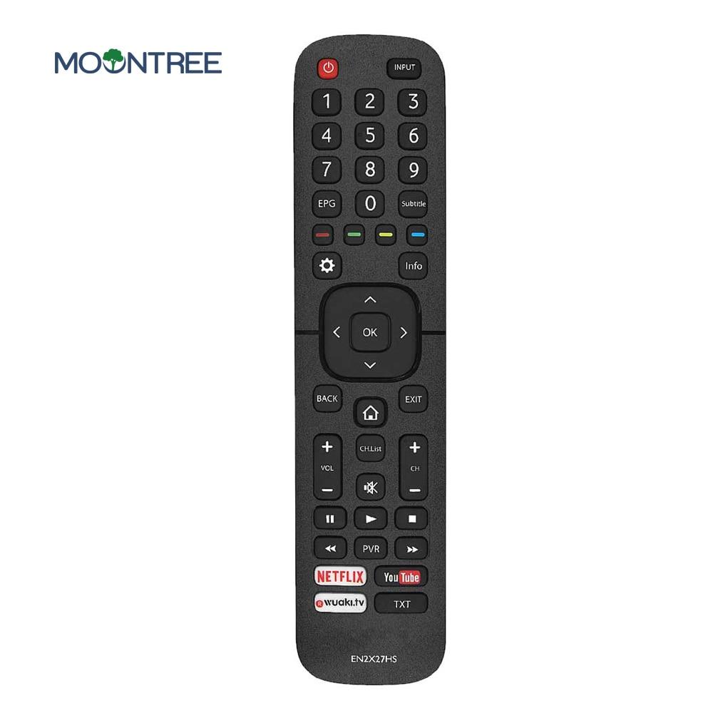 EN2X27HS сменный пульт дистанционного управления для Hisense smart TV с Netflix You Tube 43K300UWTS0100 49K300UWTS 55NEC5200 65K5500UWTS