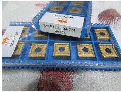 Envío Gratis insertos de carburo SNMG120404/08-GM adecuados para la serie MSSNR, herramienta de torneado exterior
