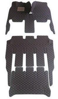 Set completo personalizado de alfombrillas de coche + alfombrilla de un tronco para Honda Odyssey 7 8 asientos 2017-2011 alfombras duraderas impermeables para Odyssey 2013