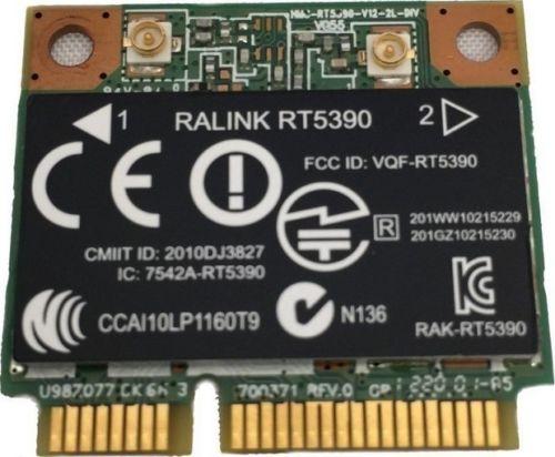 Tarjeta para Ralink RT5390 HP Pavilion G6-2000 serie WiFi tarjeta inalámbrica 670691-001 670285-001 RT5390