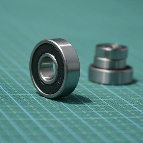 "100pcs  R3-2RS R3RS inch deep groove ball bearing  3/16"" x 1/2"" x 0.196"" inch miniature bearings R3 2RS  4.762x12.7x4.978  mm"