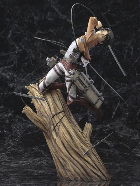 Anime Attack on Titan Kotobukiya Levi Ackerman PVC Action Figure Model Toy 12cm