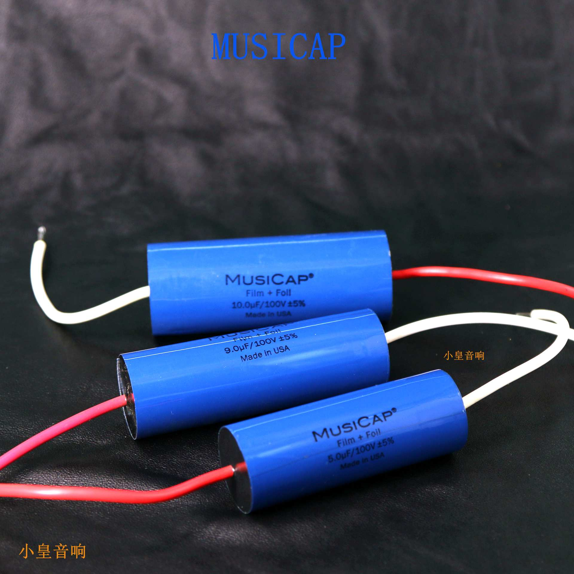 1lot/2pcs American original MusiCap 0.68uf-15UF 100V speaker divider capacitor axial capacitor free shipping