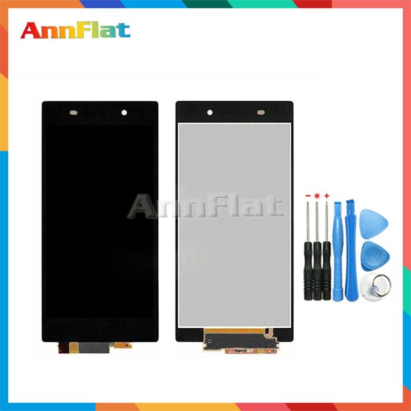 Alta calidad 5,0 para Sony Xperia Z1 L39H C6902 C6903 pantalla LCD con montaje de digitalizador con pantalla táctil