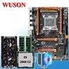 HUANAN – carte mère ZHI deluxe X79 avec processeur Xeon E5 2660 C2 avec emplacement M.2 carte vidéo GTX760 4G 16 go (2x8 go) de RAM refroidisseur