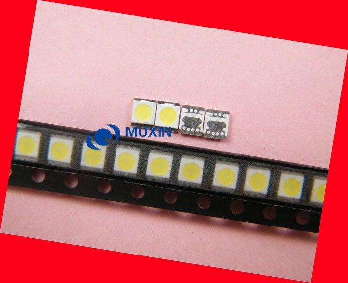 100 Pieces/lot 2835 3V 1W 350MA SEOUL LED light beads for Repairs Panasonic sharp TV LED strip Cool white