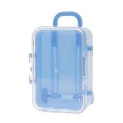 Venda quente mini rolo de viagem mala de bagagem carrinho de caixa de doces caixa de doces de casamento personalidade criativa caixa de doces brinquedo pequeno sto