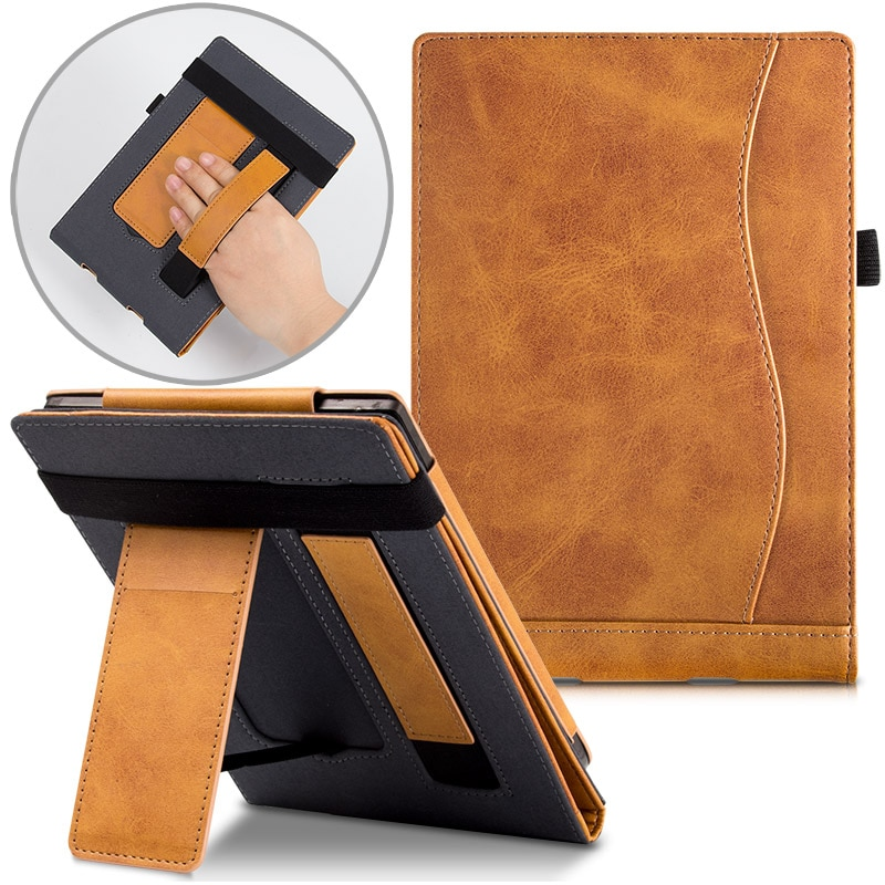 PocketBook 633 Color/PocketBook 606/616/PocketBook 627/628/PocketBook 632 Case, Premium Protective Cover with Stand/Hand Strap