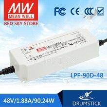 MEAN WELL LPF-90D-48 48V 1.88A meanwell LPF-90D 48V 90,24 W fuente de alimentación de conmutación LED de salida única