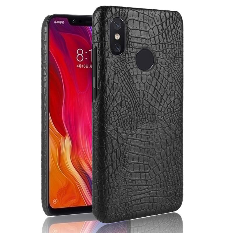 Xio mi A1 5 5C 6 8 SE 5S Plus caso cubierta de lujo cocodrilo caso Xiaomi mi Mix 2S Max 2 3 Nota 2 3 mi 5 mi 8 mi A1 Coque bolsa