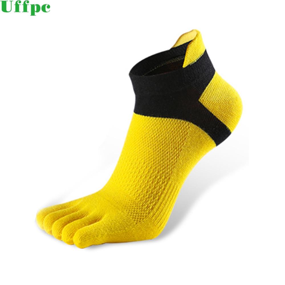 1 Pair Mens Socks Five Finger Sock New Men Mesh Meias Sports Running Five Finger Toe Socks Comfortable Sports Breathable Socks