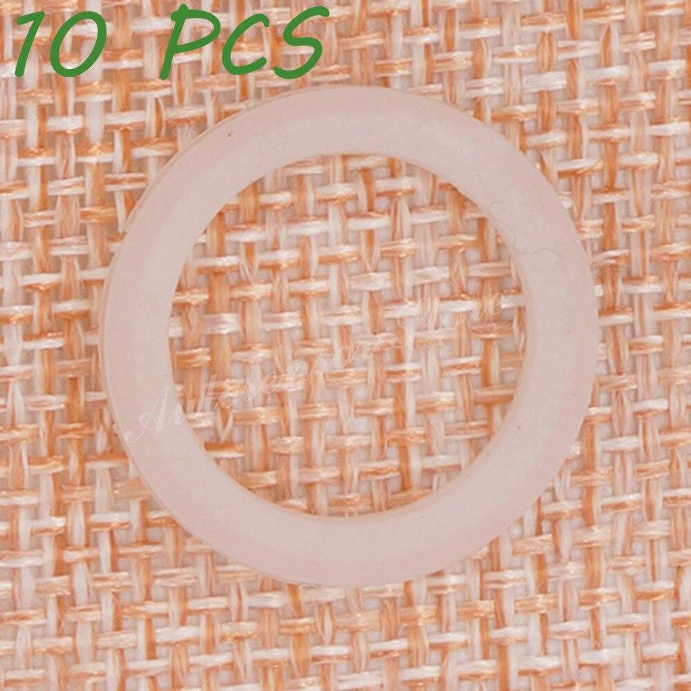 10 Uds 6923000 Universal PDC Sensor de aparcamiento o-ring para GM Chrysler Peugeot Buick estacionamiento objeto 0263006052 blanco etc