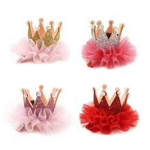 Mignon bébé filles pinces à cheveux couronne princesse épingles à cheveux enfant enfants anniversaire cheveux Barrettes chapeaux bébé fille cheveux accessoires cadeau