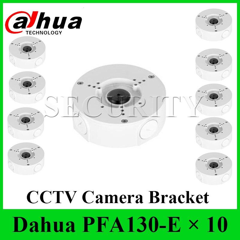 DHL EXPRESS 10 unids/lote Dahua PFA130-E caja de conexiones a prueba de agua de aluminio IP66 soporte de cámara compatible con cámara Dahua IP