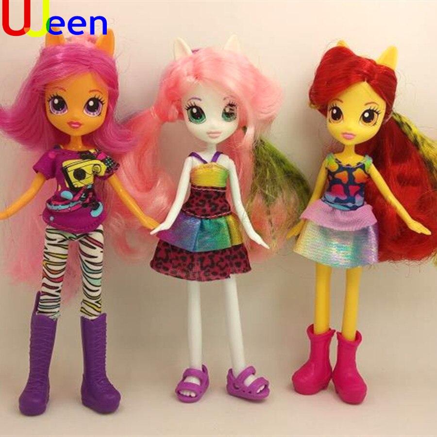 uj EG Doll toy EG Doll Girl plastic toy EG Doll ornaments full set soft horse Figure Doll Christmas birthday girl gift toys