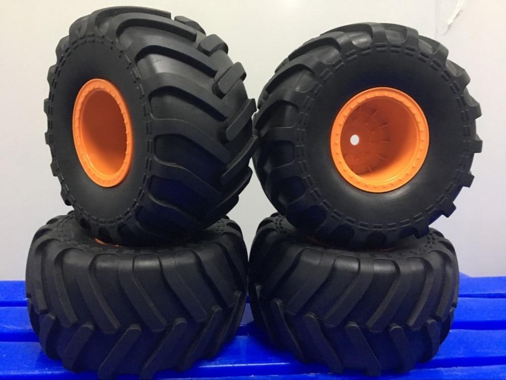 2,2, 1/10 RC Rock Crawler neumático de coche de axial AX90057 SMT10 MAX-D neumático Original 4 Uds
