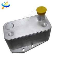 Engine Oil Cooler For BMW 3 Series  X3 E46 E60 E61 E83 E87 E90 E91 OEM  11427787698 5989070102