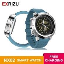 EXRIZU Smart Watch NX02 Pedometer Sport Activity Tracker Waterproof Stopwatch Call SMS Reminder 12months Standby Time Smartwatch